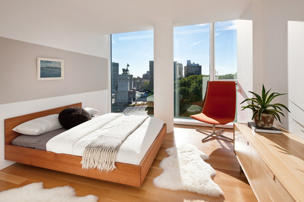 Modern Bedroom by Sean O'Brien Architecture