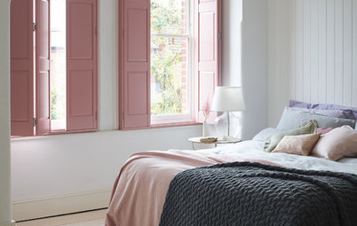 10 Pale Pink and Grey Bedrooms to Soothe the Senses