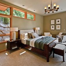 Contemporary Bedroom by Six Walls Interior Design