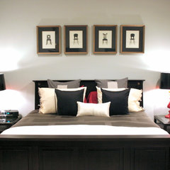 modern bedroom by Busybee Design