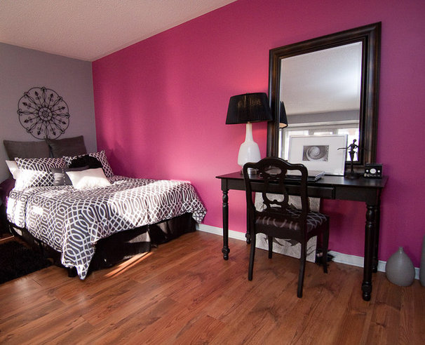 Eclectic Bedroom by Stephanie O'Leary, Style By Stephanie