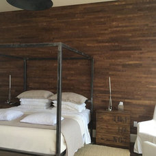 Beach Style Bedroom by Stikwood