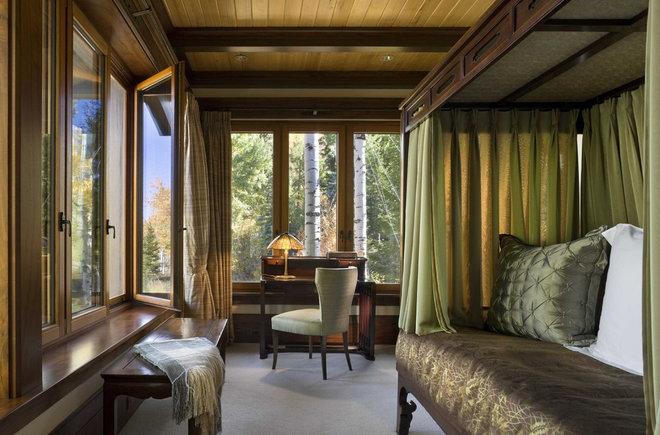 Rustic Bedroom by Ike Kligerman Barkley