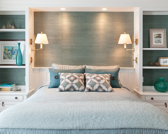 built ins around bed | houzz