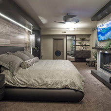 Contemporary Bedroom by Sunderland Brothers Company