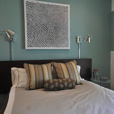 Transitional Bedroom by Susan Deneau Interior Design