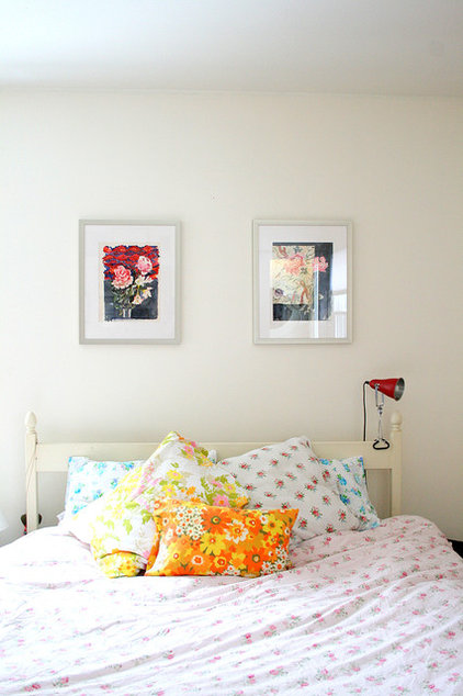 eclectic bedroom by Tamar Schechner