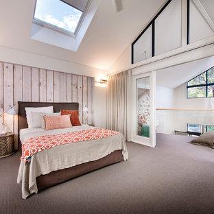 Camera da letto stile loft al mare - Foto e Idee per Arredare