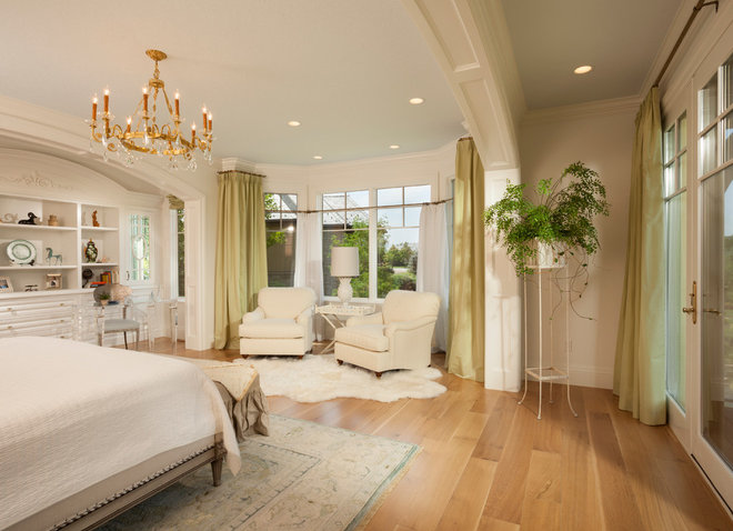 Traditional Bedroom by THINK architecture Inc.
