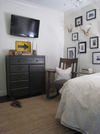 Eclectic Bedroom by Tracery Interiors