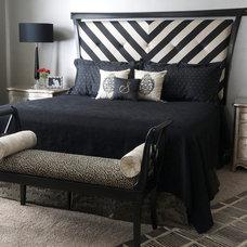 Contemporary Bedroom by Tran + Thomas Design Studio