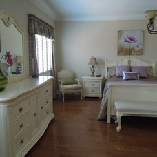 Traditional Bedroom by Unique Space Lift Staging & Redesign