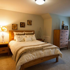 Traditional Bedroom by Viridian Homes