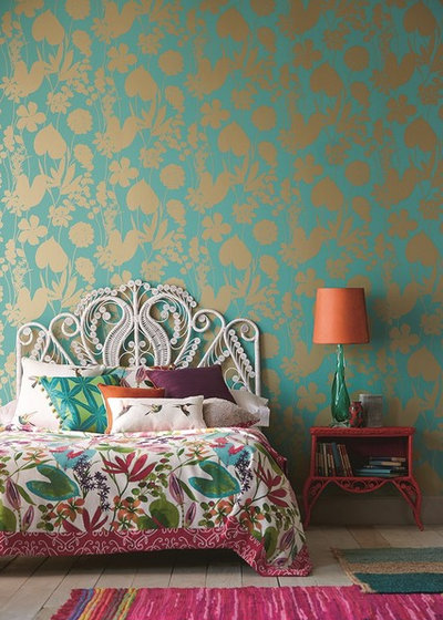 Tropical Bedroom by Wallpaperdirect UK