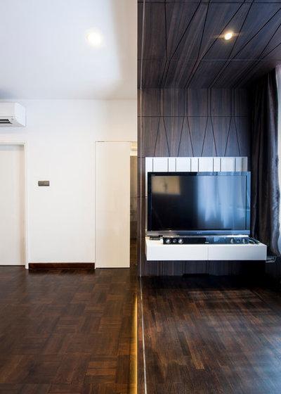 Contemporary Bedroom by Proj. B Studio