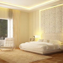 modern bedroom by Nathalia lani