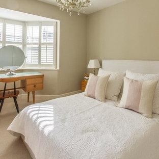 Immagine di una camera da letto minimalista