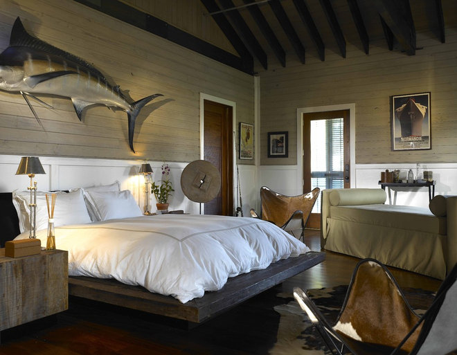 Eclectic Bedroom by Wolfe Rizor Interiors