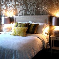 Modern Bedroom by AccenTrix Design