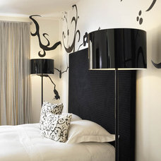 Modern Bedroom by Amy Noel Design
