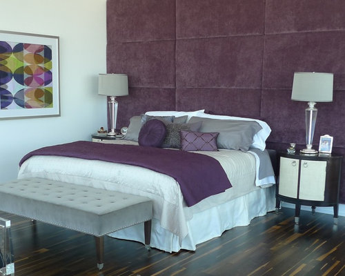 purple grey bedroom home design ideas pictures remodel and decor