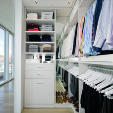 Modern Bedroom by California Closets