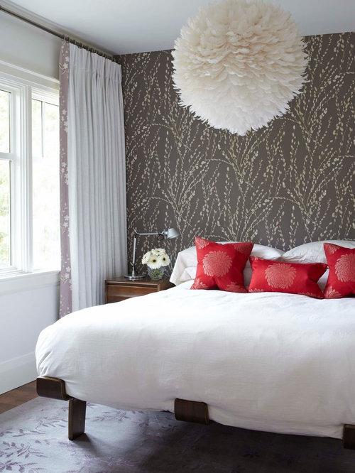 Http Www Houzz Co Uk Master Bedroom Wallpaper