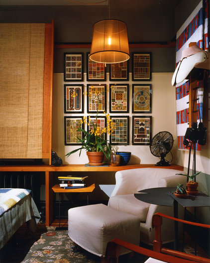 Eclectic Bedroom by christopher jeffrey architects pllc