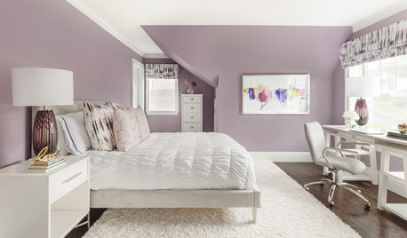 Room of the Day: Color Palette Gives Teen's Bedroom Staying Power