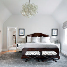 Transitional Bedroom by Clean Design