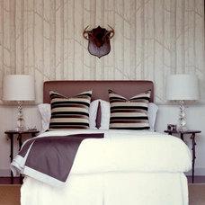 Traditional Bedroom by David Nosella Interior Design