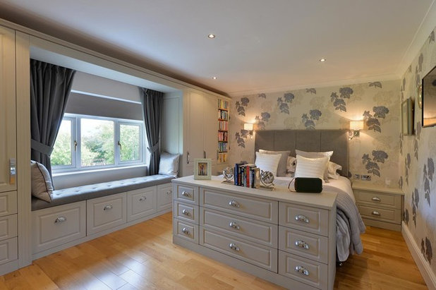 Transitional Bedroom by DJB Photography