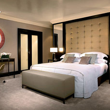 Contemporary Bedroom by Integrated Interior Design