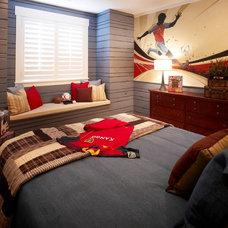 Traditional Bedroom by Joe Carrick Design - Custom Home Design