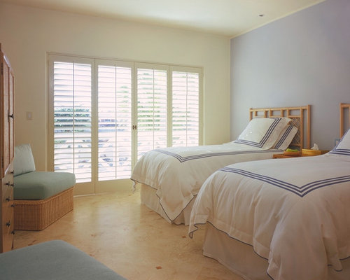 Plantation shutters houzz for Plantation style bed