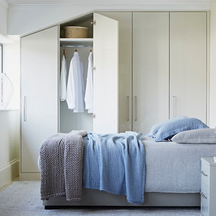 Photo of a transitional bedroom in London.
