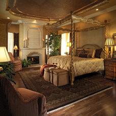 Mediterranean Bedroom by Jones Clayton Construction