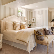 Traditional Bedroom by McCroskey Interiors