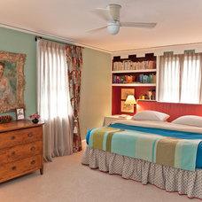 Traditional Bedroom by Megan McClure Interiors, Inc.