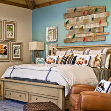 Beach Style Bedroom by Platinum Series by Mark Molthan