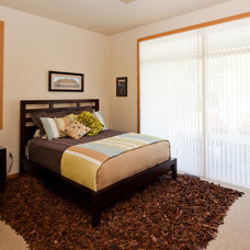 Contemporary Bedroom by PortSide Builders, Inc.