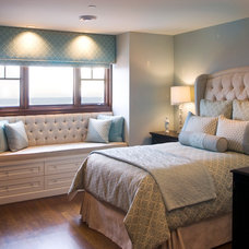 Traditional Bedroom by RENE PICARD INTERIORS