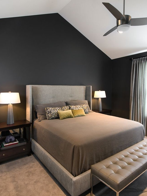 Masculine Master Bedroom | Houzz