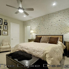 Traditional Bedroom by The Luxe Designer