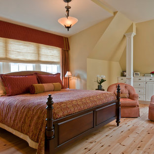 Red And Yellow Bedroom Ideas And Photos Houzz
