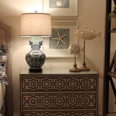 Contemporary Bedroom by Diane Keaton Interiors