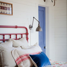 Farmhouse Bedroom by The Design Atelier, Inc.