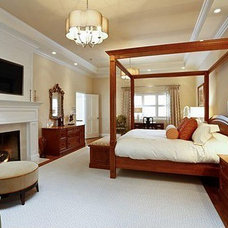 Traditional Bedroom by JWH Design and Cabinetry LLC