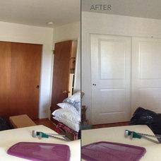 Modern Bedroom by HomeStory Easy Door Installation