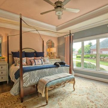 Before&After: Blush&Blue Master Bedroom